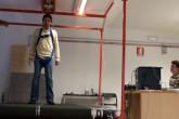 Una piattaforma per studiare la dinamica delle cadute