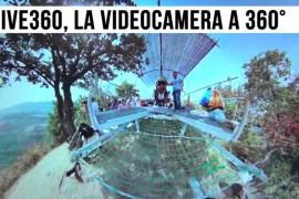 IVE360, l'innovativa videocamera a 360°