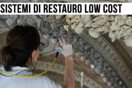 Beni culturali: diagnostica e restauro a basso costo