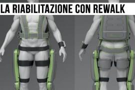 ReWalk, l'esoscheletro per la riabilitazione a seguito di lesioni midollari