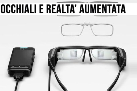 Gli occhiali per la realtà aumentata