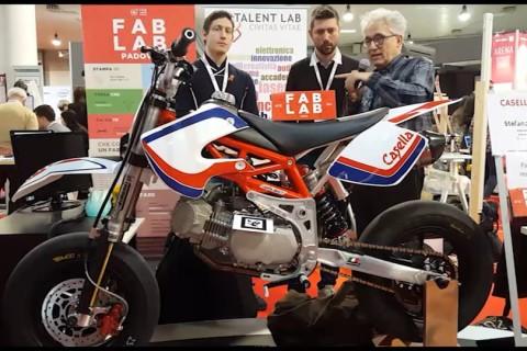 Fab Lab e motori: la moto costruita con frese e stampanti 3D