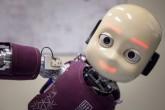 Robot bambino, tecnologia, natura