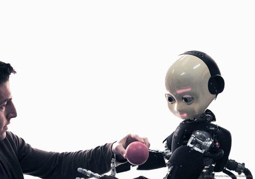 Robot bambino