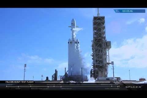 Falcon Heavy Test Flight